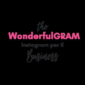 Logo The WonderfulGRAM Corso Online
